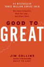 book cover graphic of Good to Great