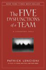 book cover graphic of The Five Dysfunctions of a Team