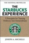 book cover graphic of The Starbucks Experience – 5 Principles for Turning Ordinary into Extraordinary
